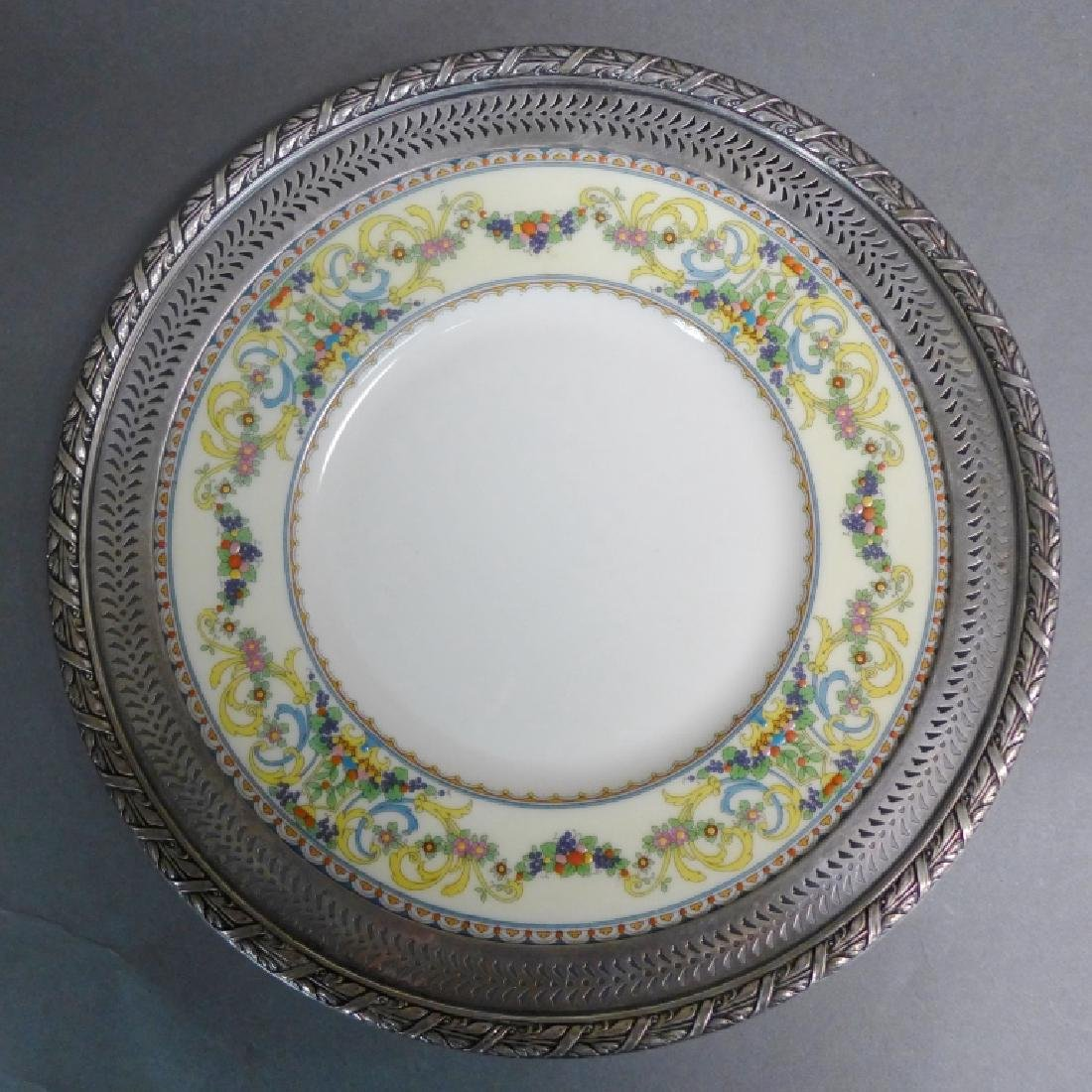 Sterling Silver Decorative Plate Grouping - 7