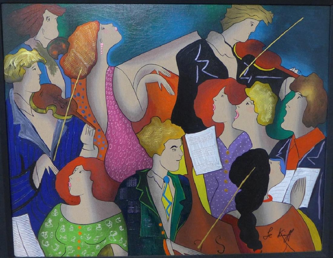 Linda Le Kinff, French (1949- ) - 2