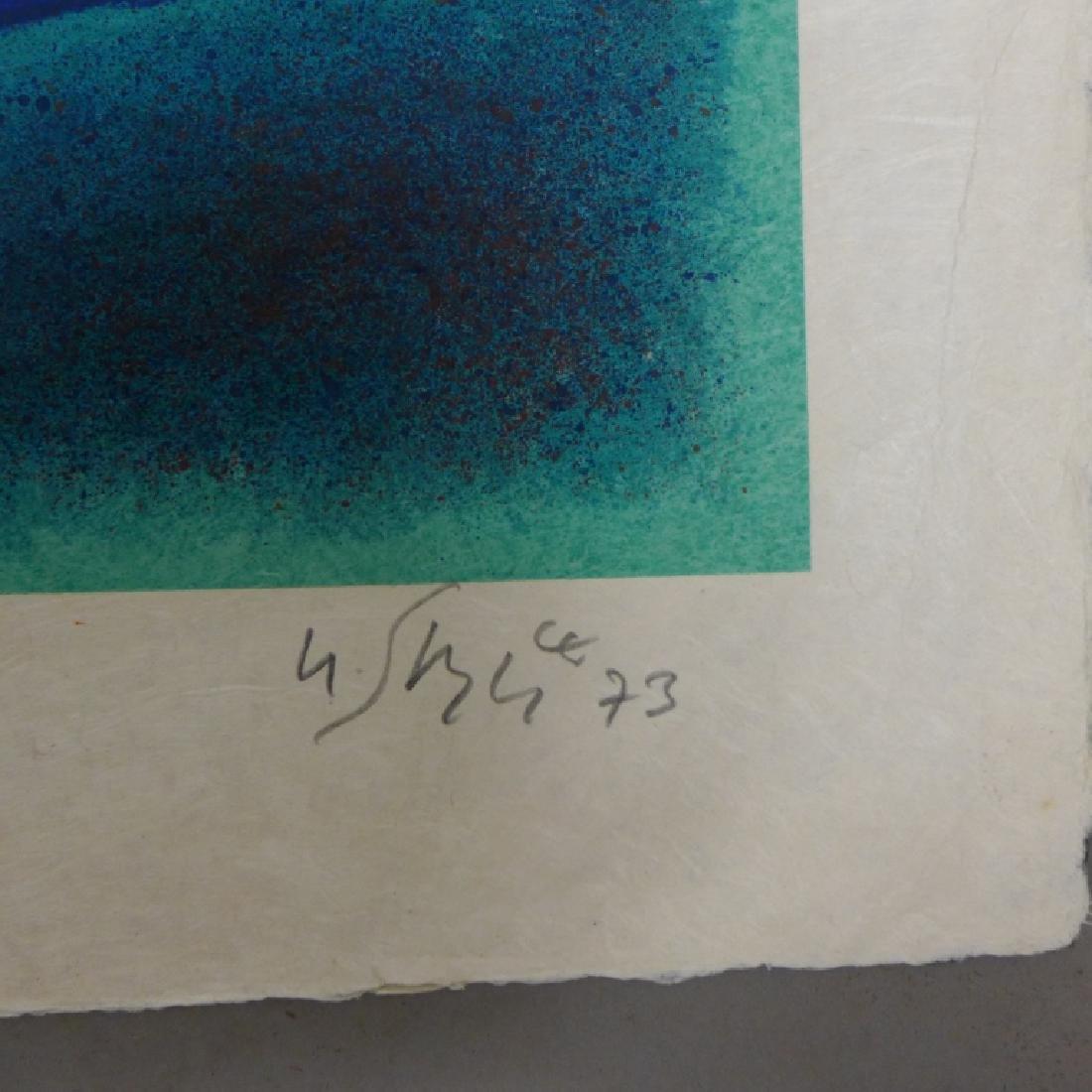 Modern Abstract Print - 6