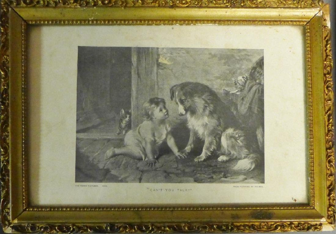 Grouping of Antique & Vintage Dog Prints - 2