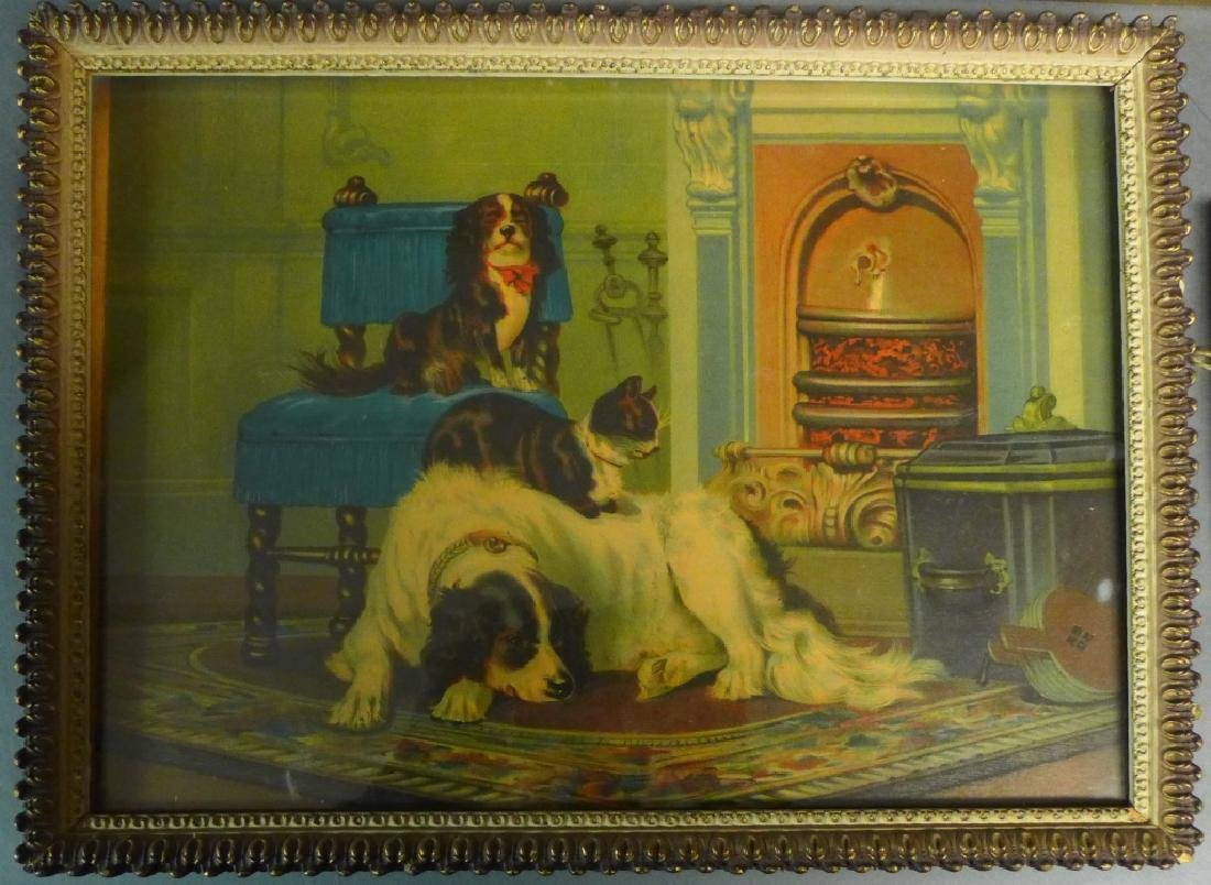 Grouping of Antique & Vintage Dog Prints - 3