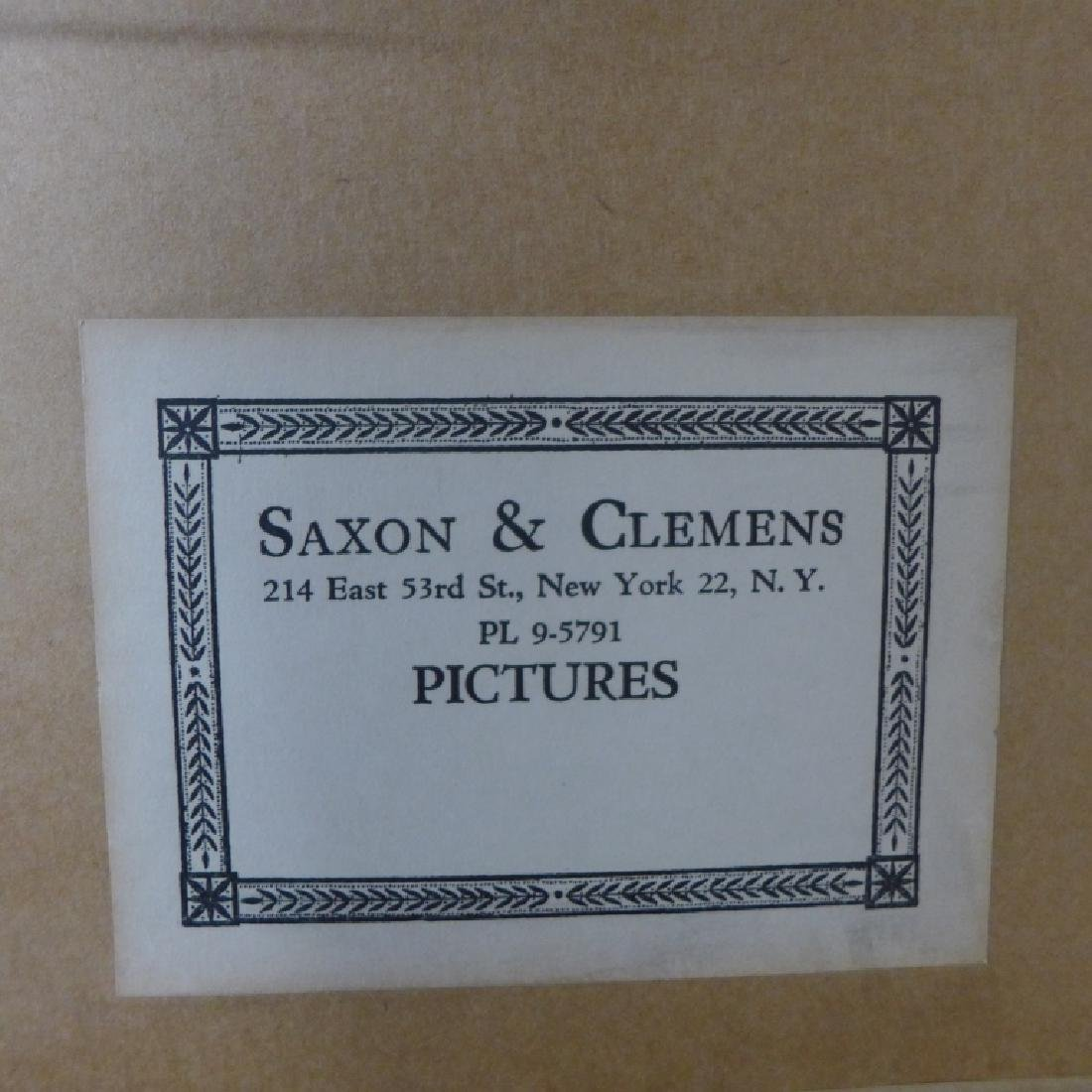 Saxon & Clemens Framed Artwork - 9
