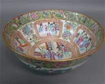 Antique Chinese Rose Manderian Bowl