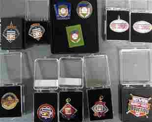 Baseball Hall Of Fame Induction Press Pins