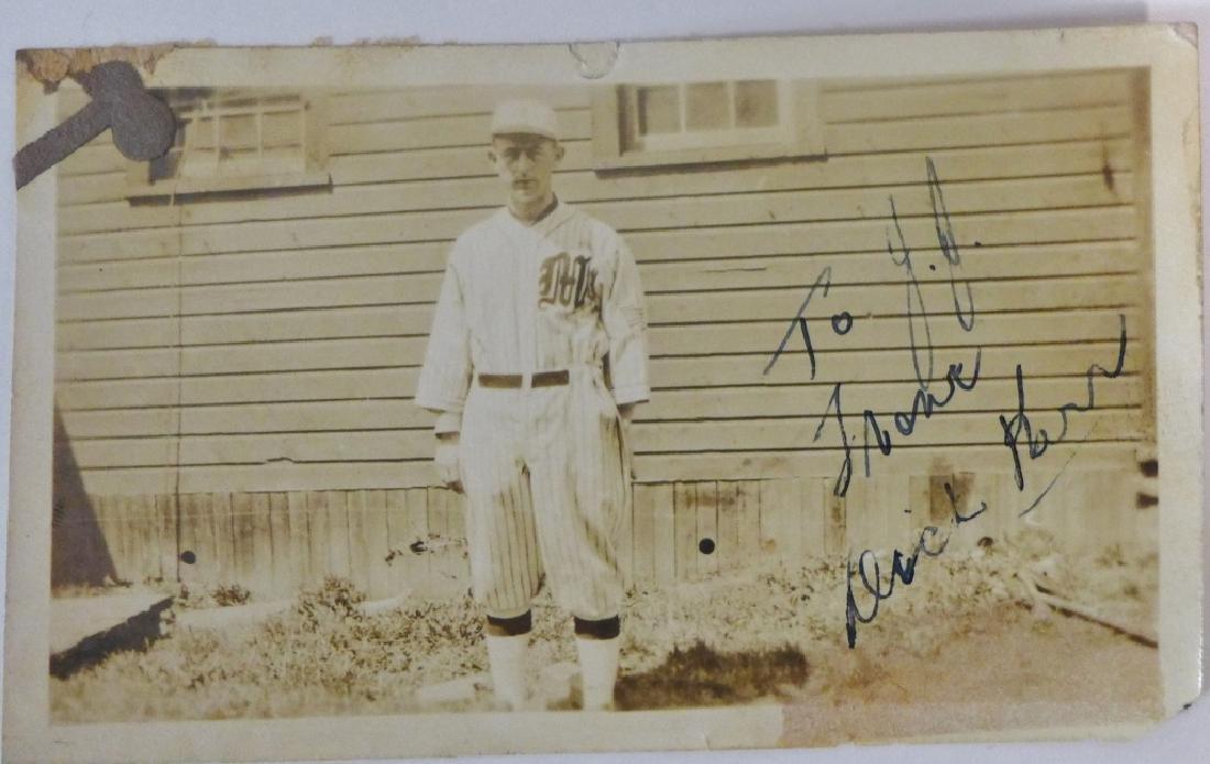 Dick Kerr Autographed Photograph w/ JSA
