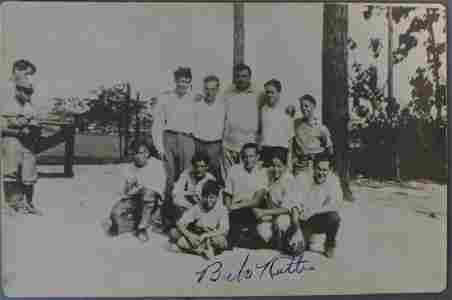 Babe Ruth Autographed Photo w/ JSA