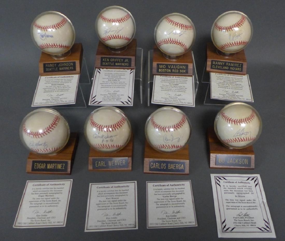 American League Signed Baseballs - 10
