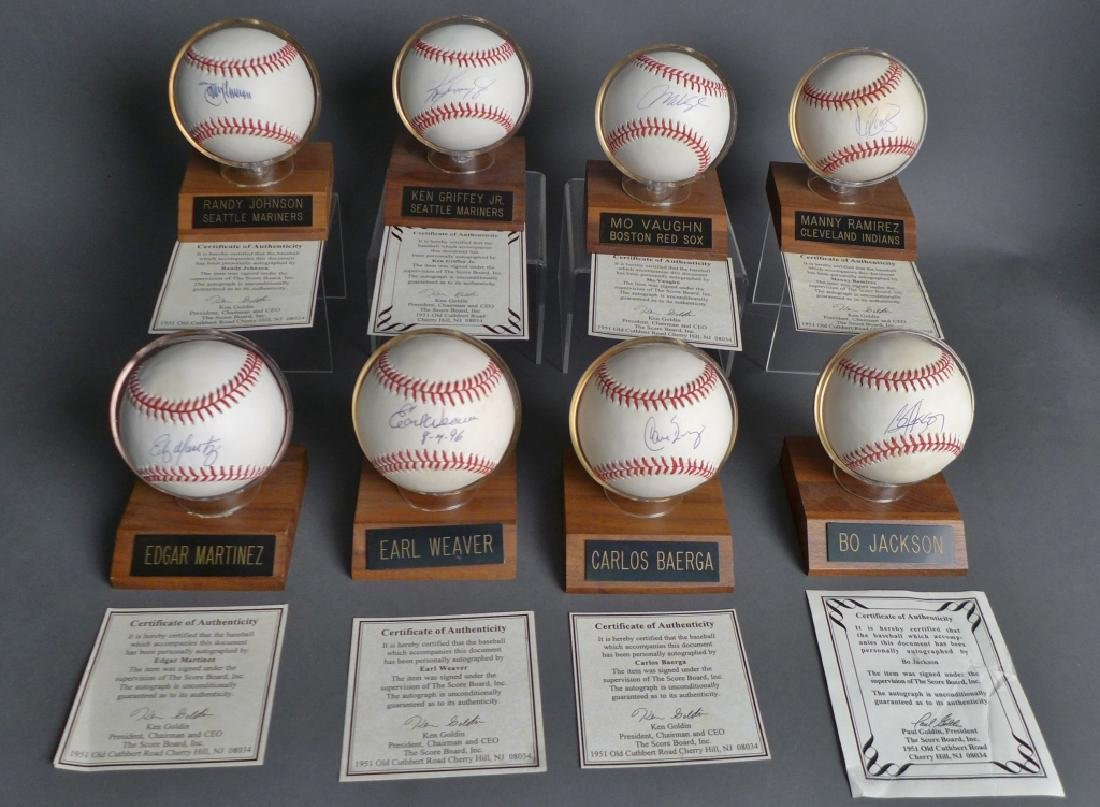 American League Signed Baseballs