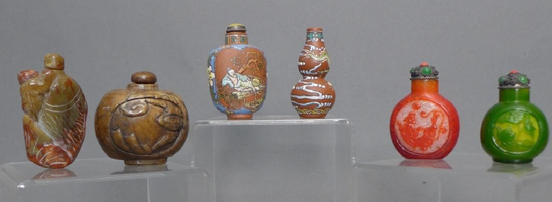 Collection of Asian Snuff Bottles