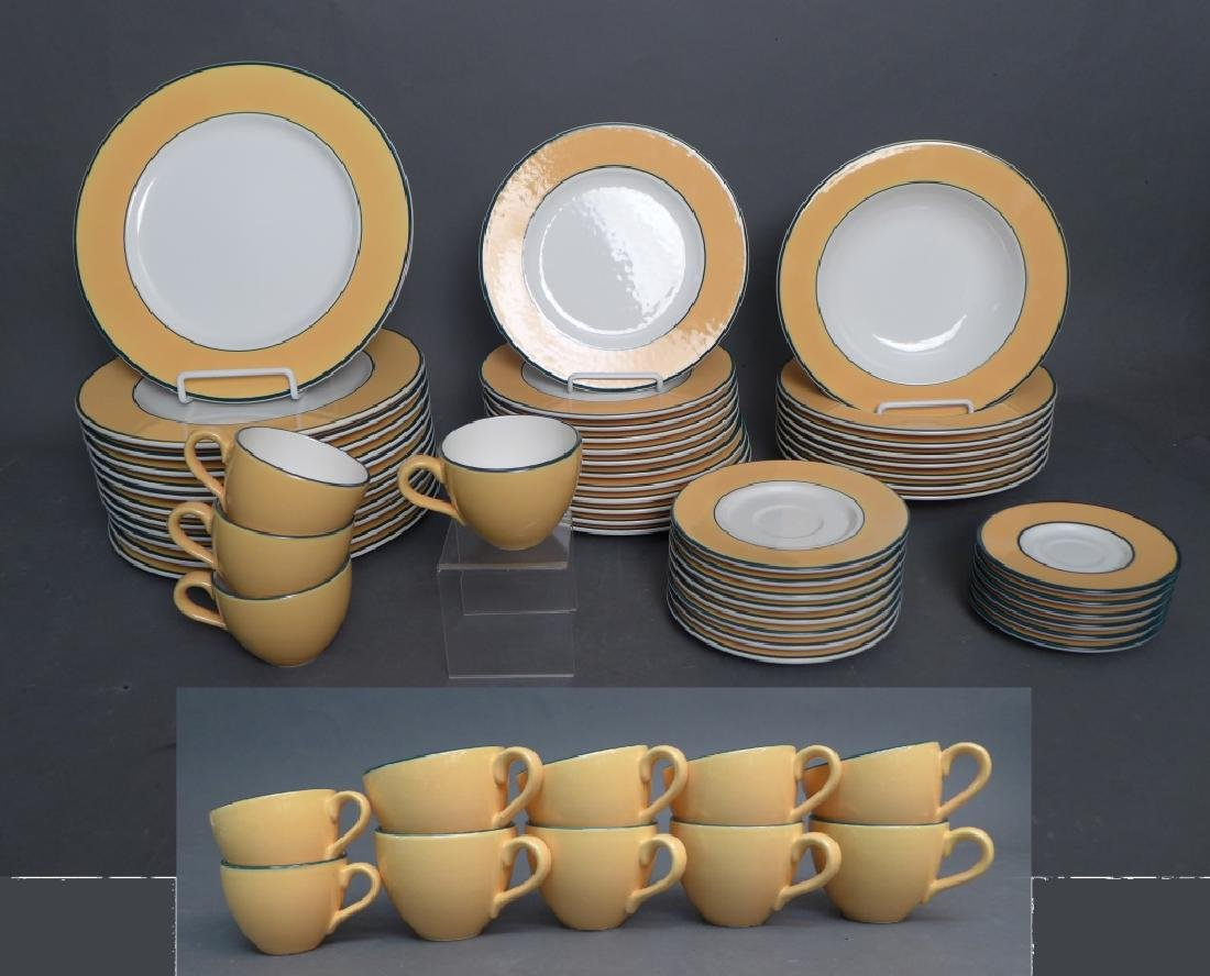 Pagnossin Treviso Italy Yellow Serving Ware