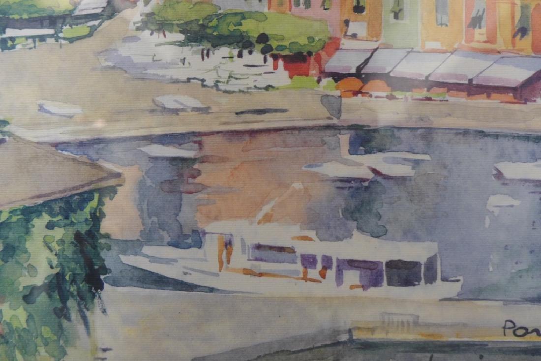 """Luciana Conti """"Portofino"""" Lithograph - 5"""