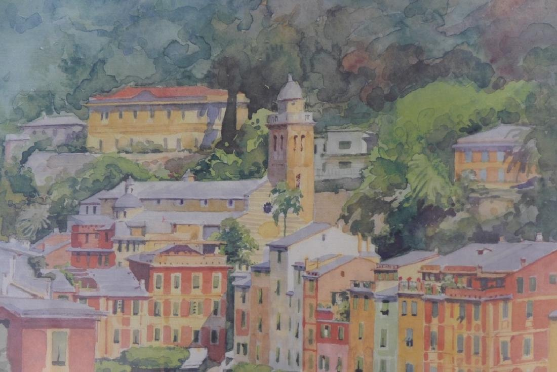 """Luciana Conti """"Portofino"""" Lithograph - 6"""