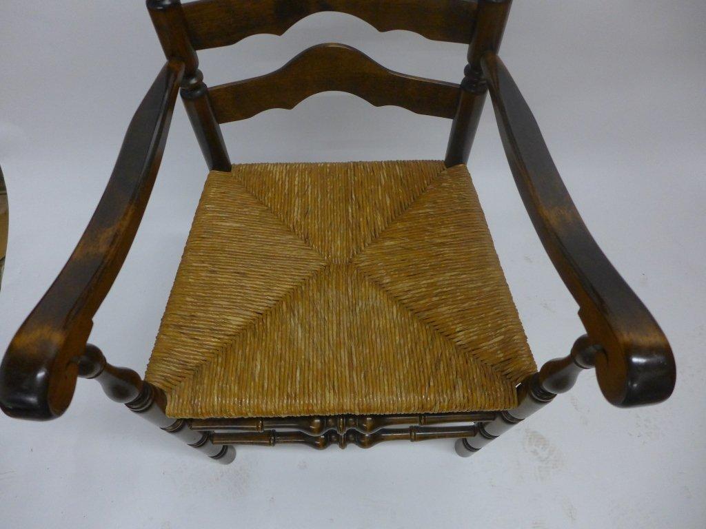 Set of Six Ladderback Chairs - 3