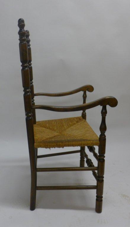 Set of Six Ladderback Chairs - 5