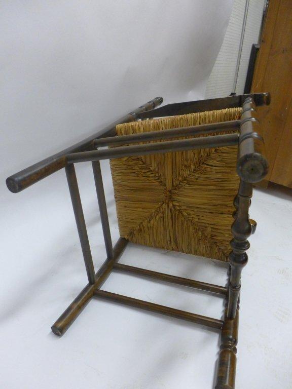 Set of Six Ladderback Chairs - 6