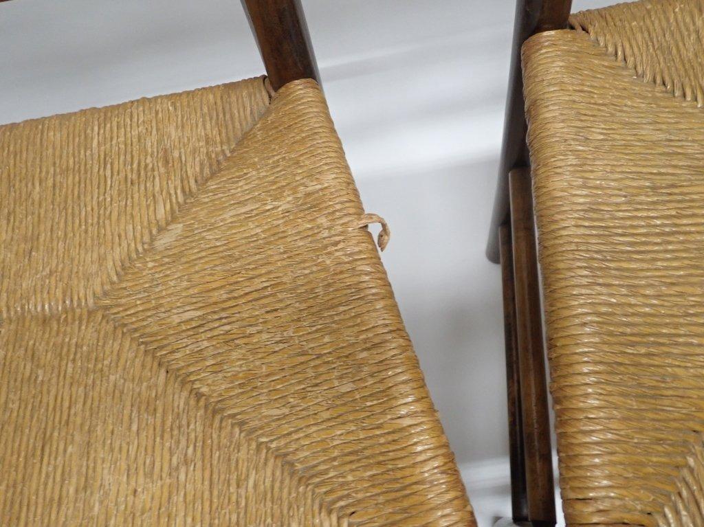 Set of Six Ladderback Chairs - 8