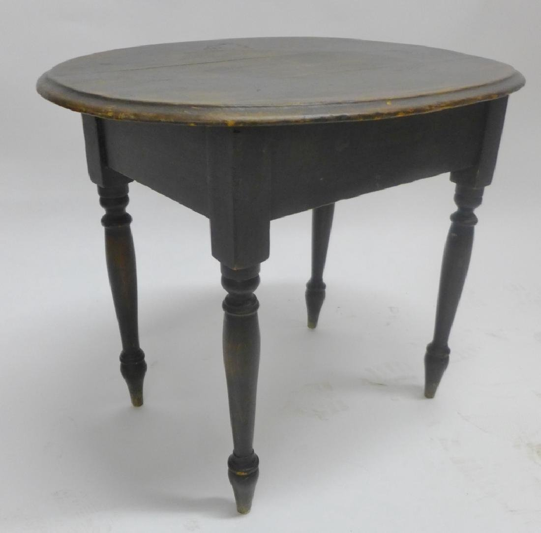Collection of Dark Wood Early Side Tables - 3