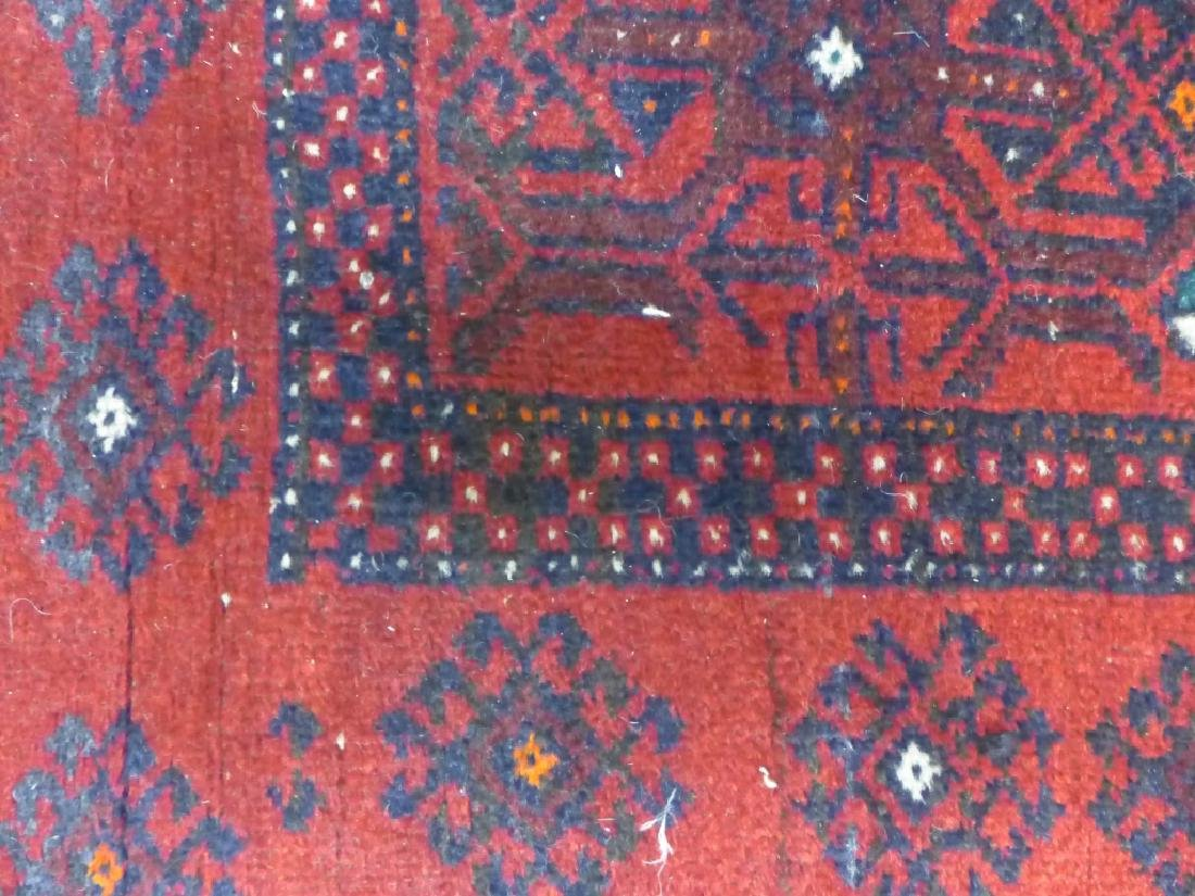 Red Balouch Persian Area Rug - 4