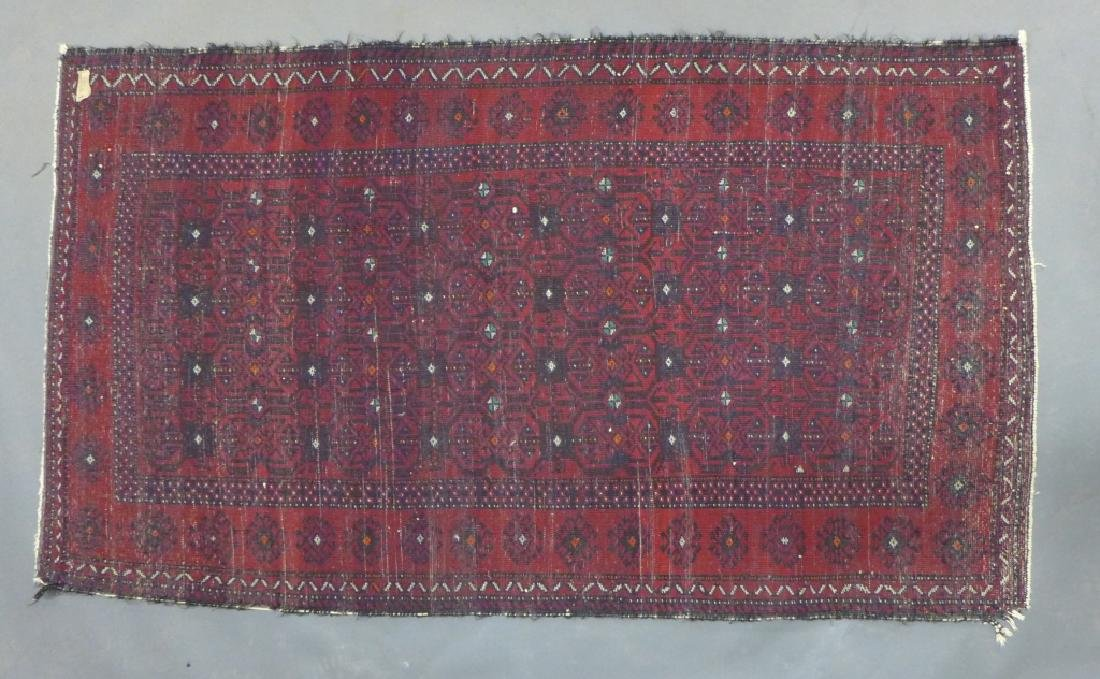 Red Balouch Persian Area Rug - 7