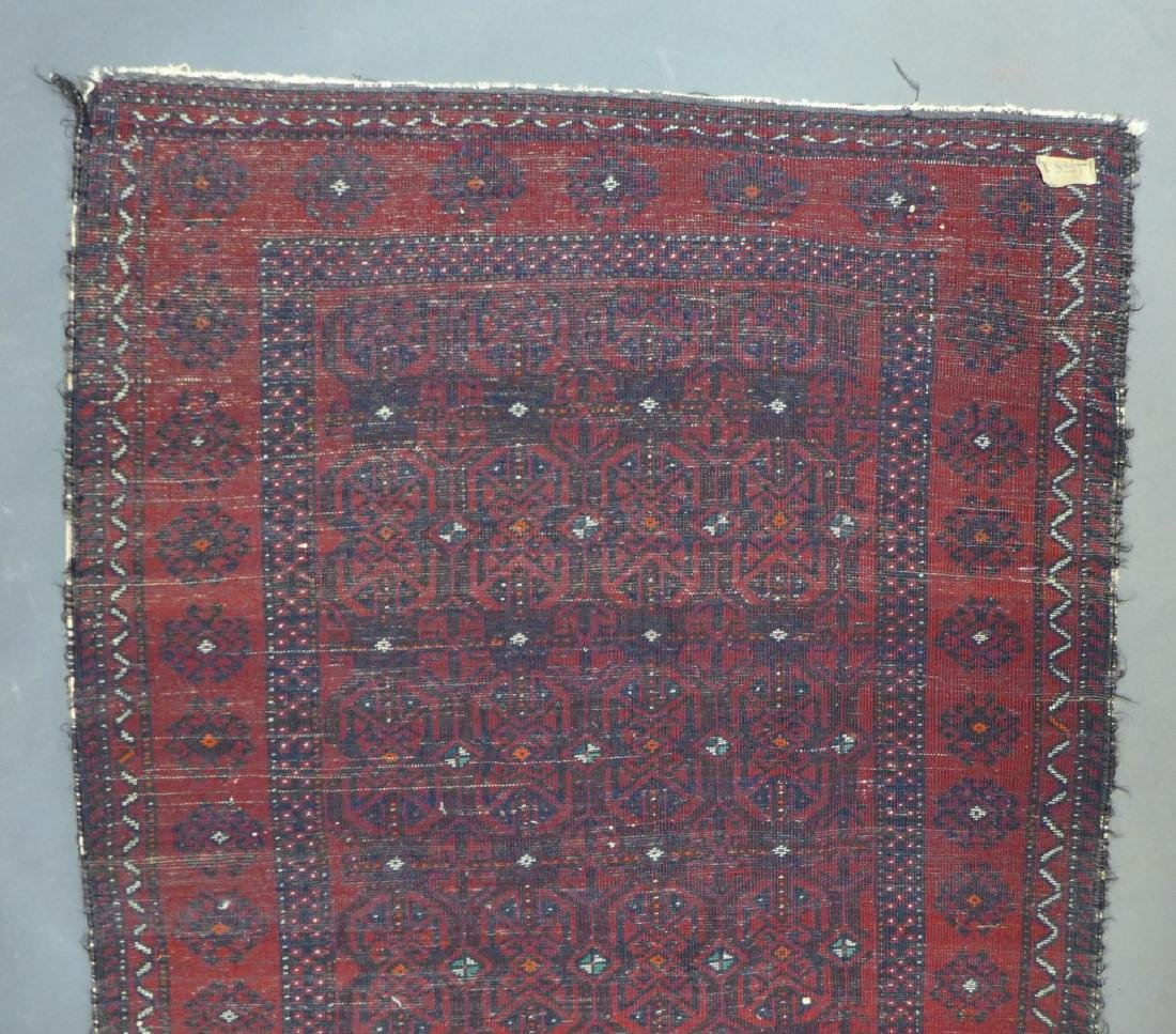 Red Balouch Persian Area Rug - 9