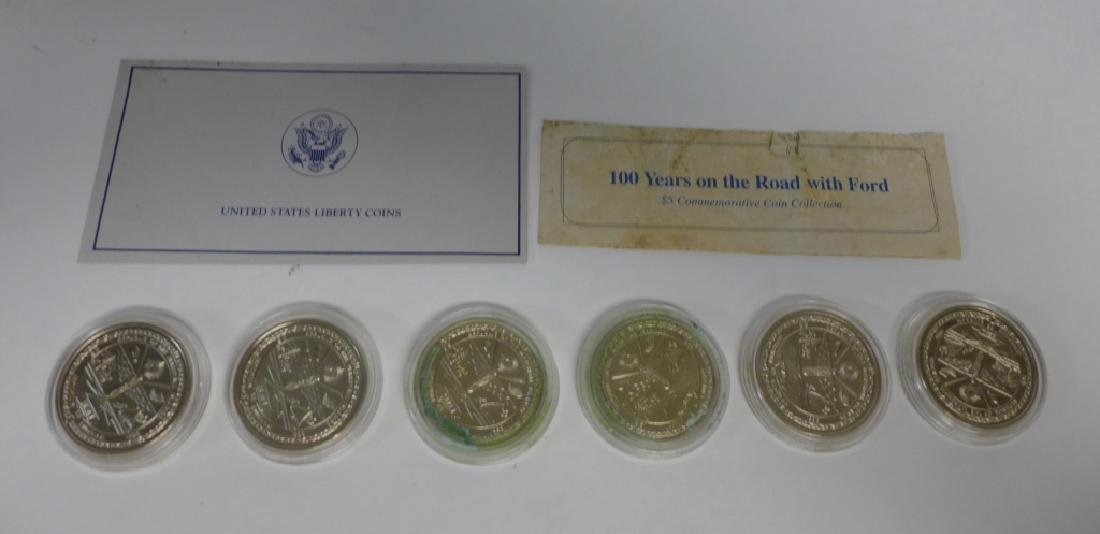 Commemorative Coins 100 Years on the Road w Ford