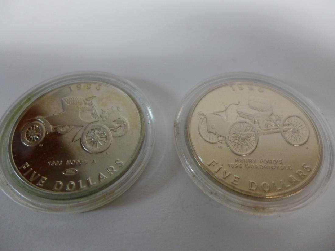 Commemorative Coins 100 Years on the Road w Ford - 6