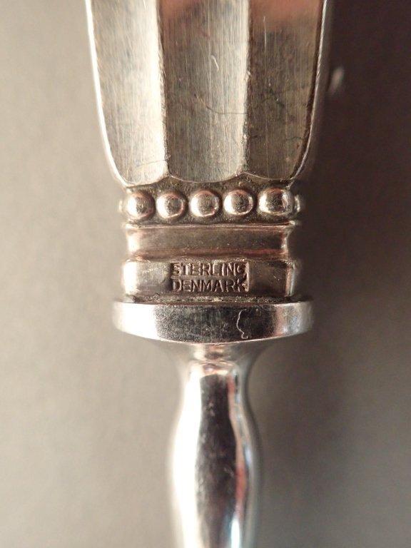 Georg Jensen Sterling Silver Acorn Cutlery Set - 9
