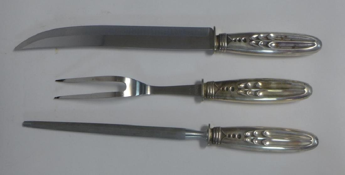 Flint Sterling Silver Carving Set - 3