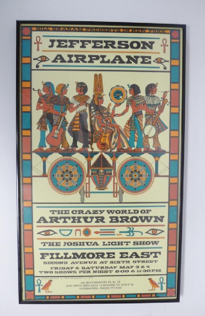 Original Jefferson Airplane Poster at Fillmore