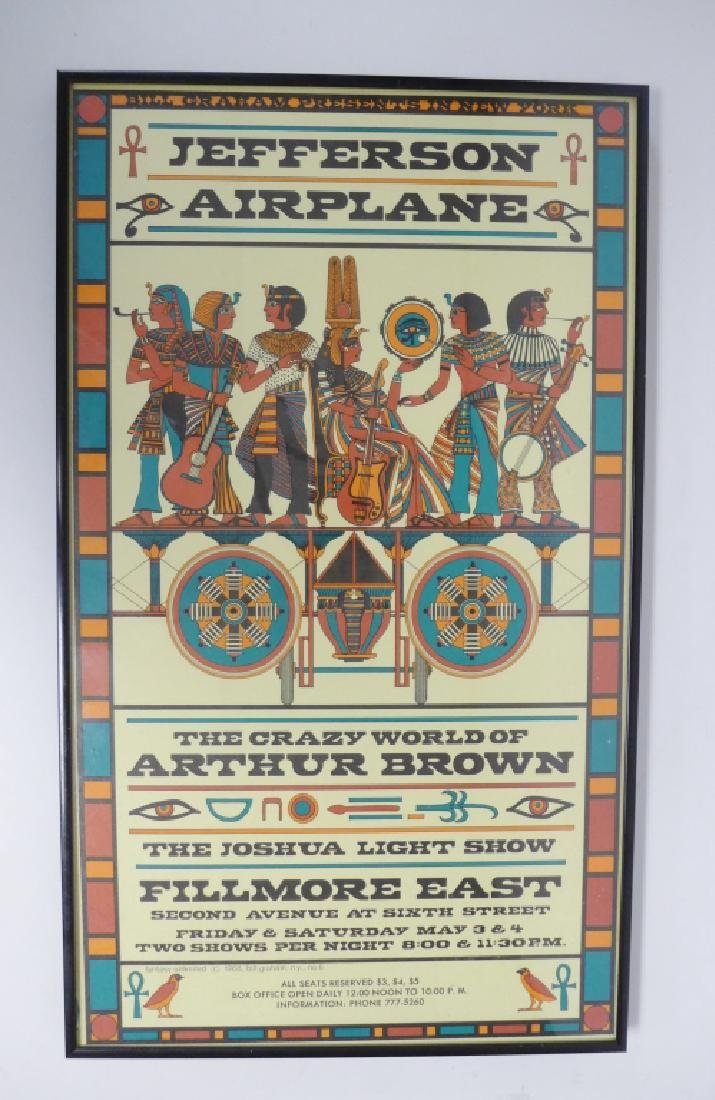 Original Jefferson Airplane Poster at Fillmore