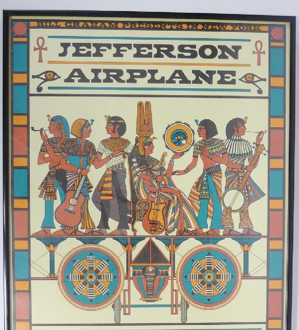 Original Jefferson Airplane Poster at Fillmore - 2