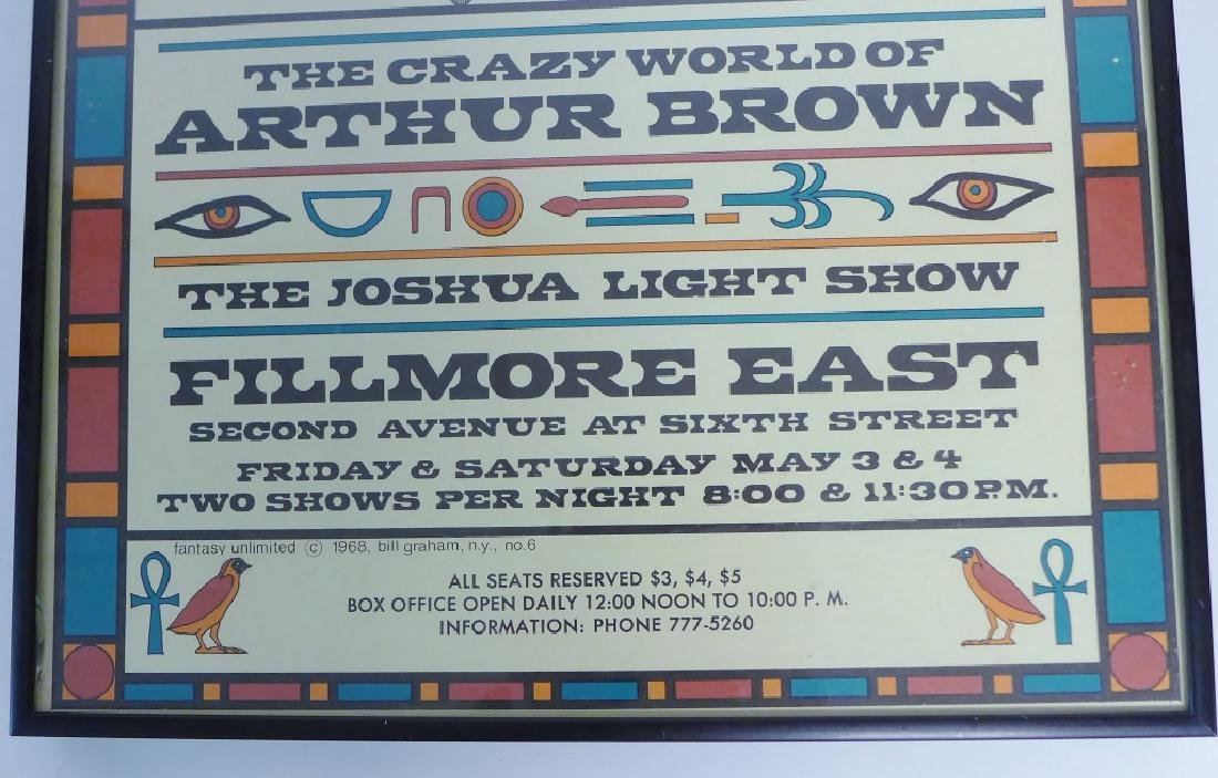 Original Jefferson Airplane Poster at Fillmore - 3