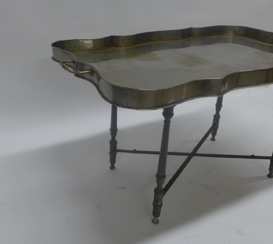 Vintage Tole Butlers Tray - 7