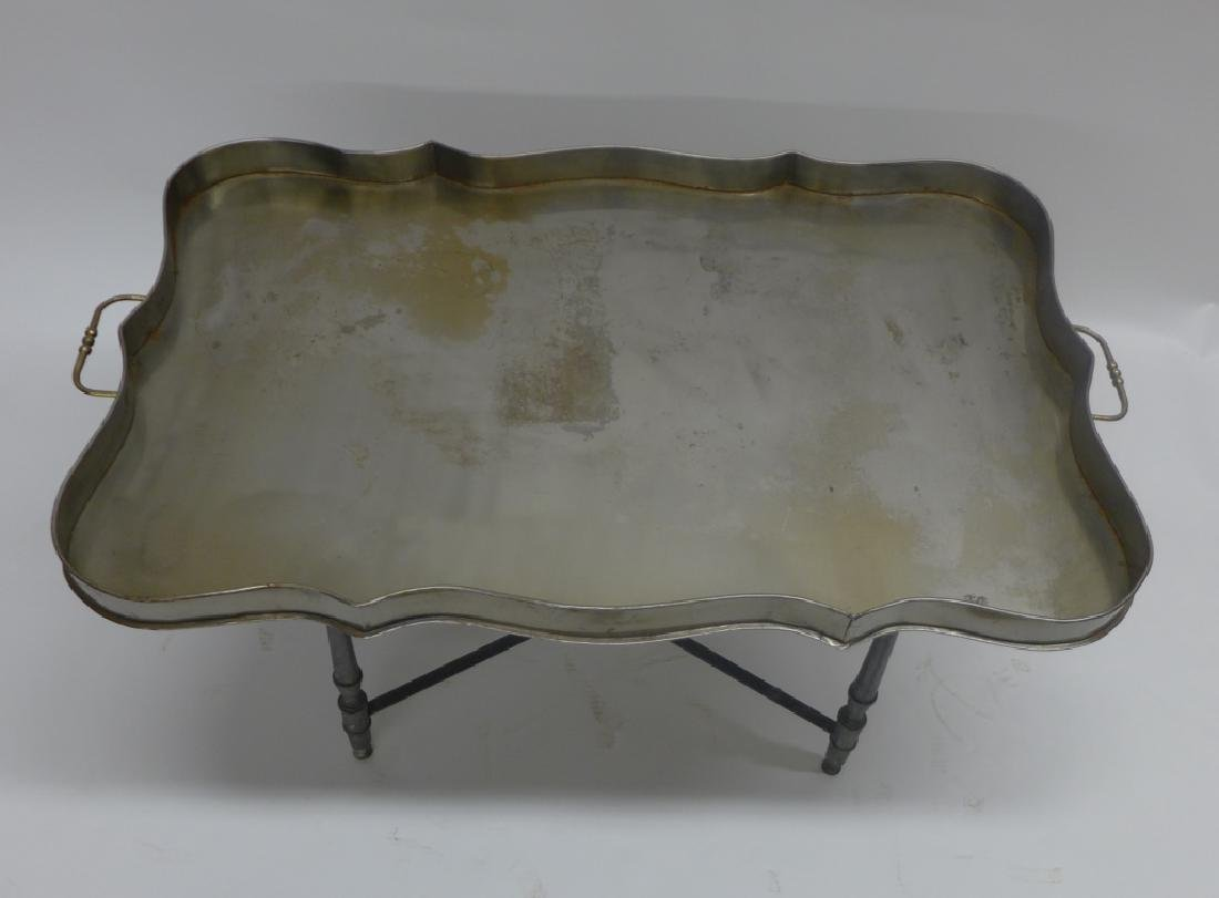 Vintage Tole Butlers Tray - 8