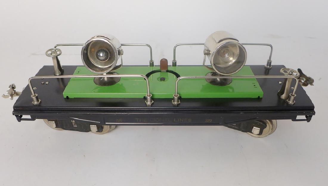 Vintage Lionel Trains Cars 212, 217, 214R, 220 - 4