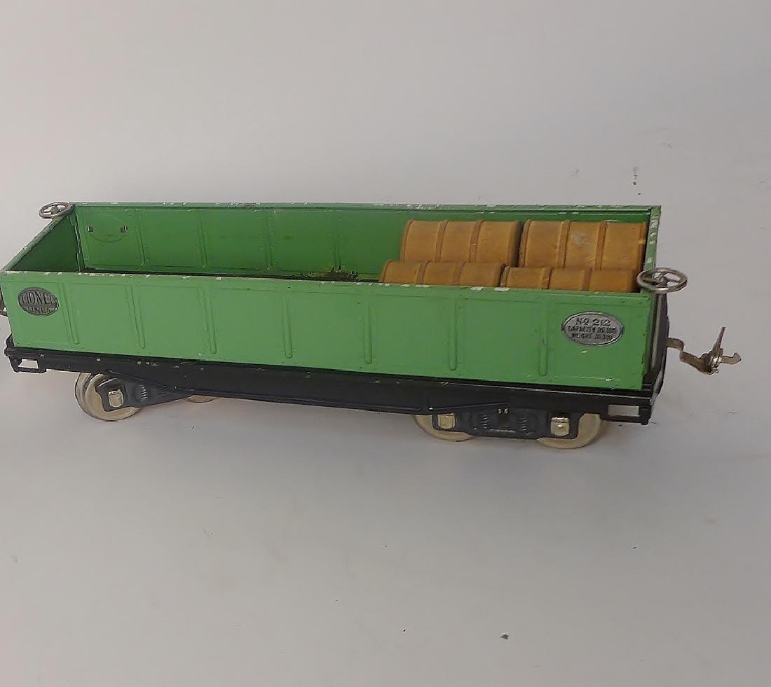 Vintage Lionel Trains Cars 212, 217, 214R, 220 - 5