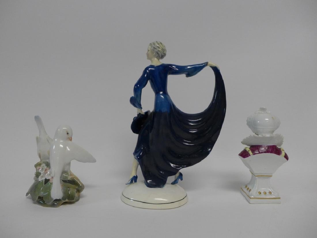 Vintage Signed Porcelain Figurine Collection - 2