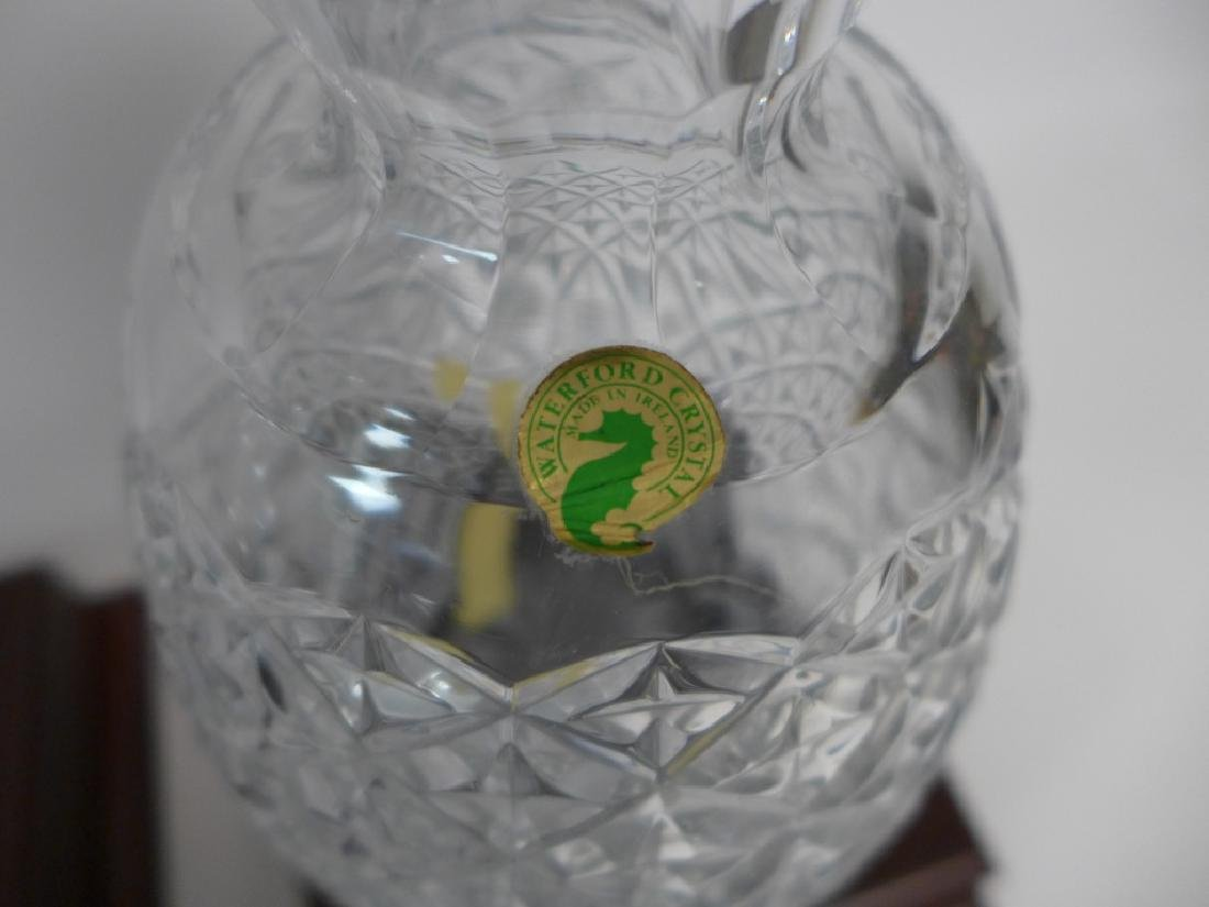 Waterford Cut Crystal Pineapple Vase Pair - 3