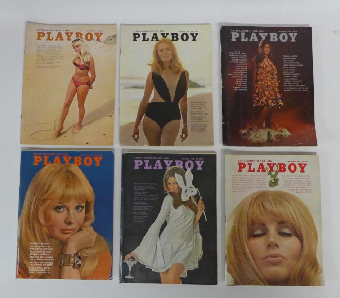 Vintage Playboy Magazine Assortment - 3