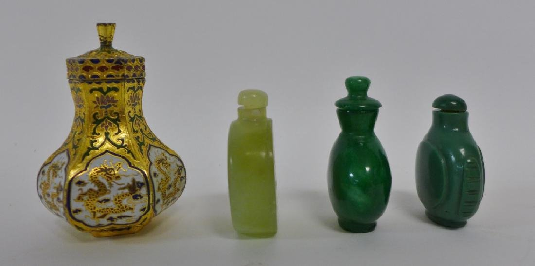 Asian Snuff Bottles and Vessels - 4