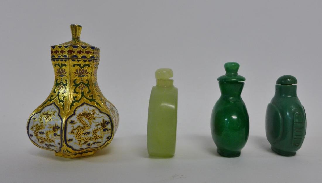 Asian Snuff Bottles and Vessels - 5