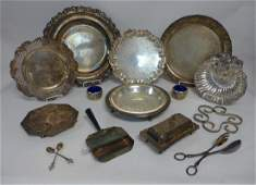 Large Silver Plate Lot