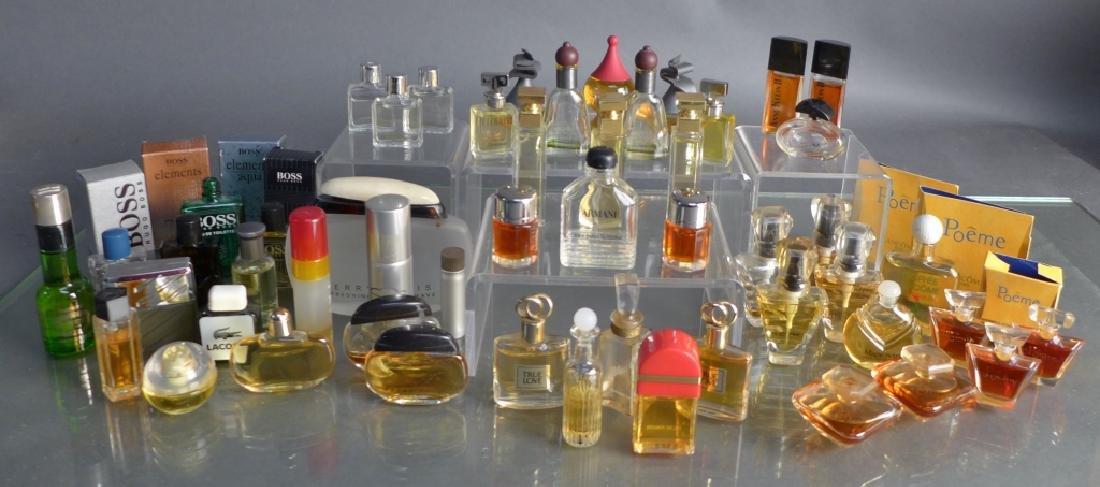Assorted Designer Perfume Miniature Bottles