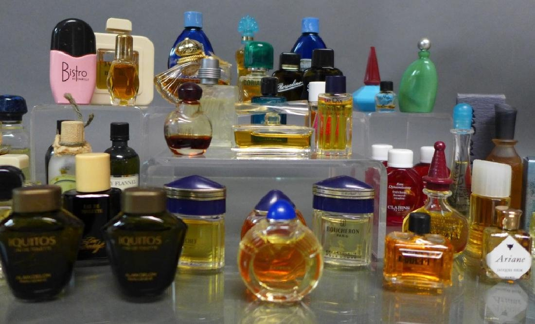 Assorted Miniature Perfume & Cologne Bottles - 3