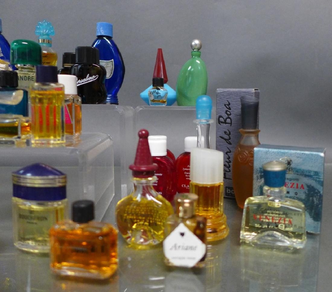 Assorted Miniature Perfume & Cologne Bottles - 4
