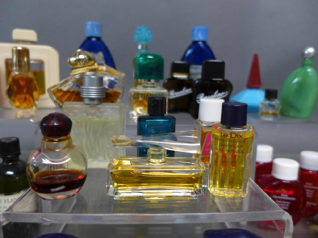 Assorted Miniature Perfume & Cologne Bottles - 6