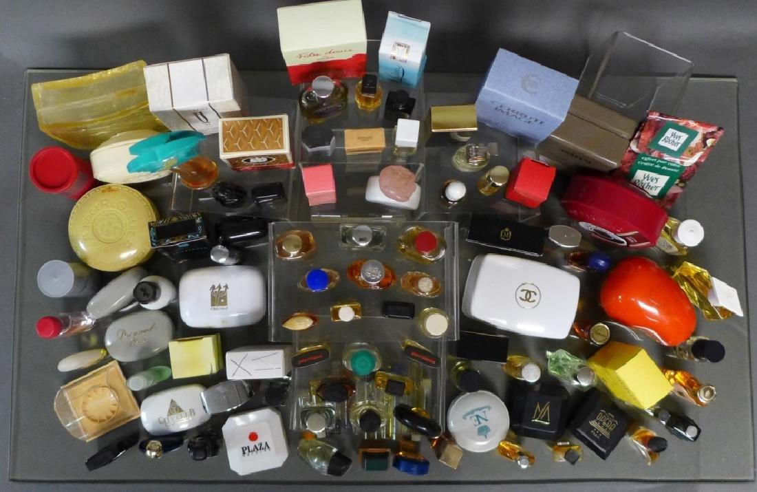 Assortment of Miniature Perfume Bottles - 10