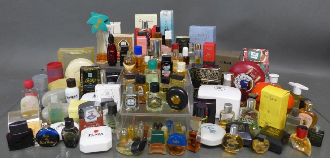 Assortment of Miniature Perfume Bottles - 6