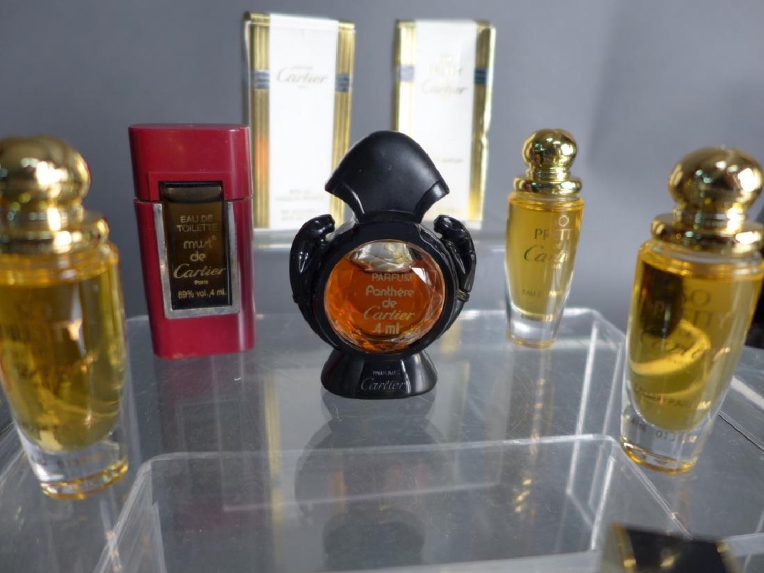 Cartier, Gucci & Fendi Miniature Perfume Bottles - 2