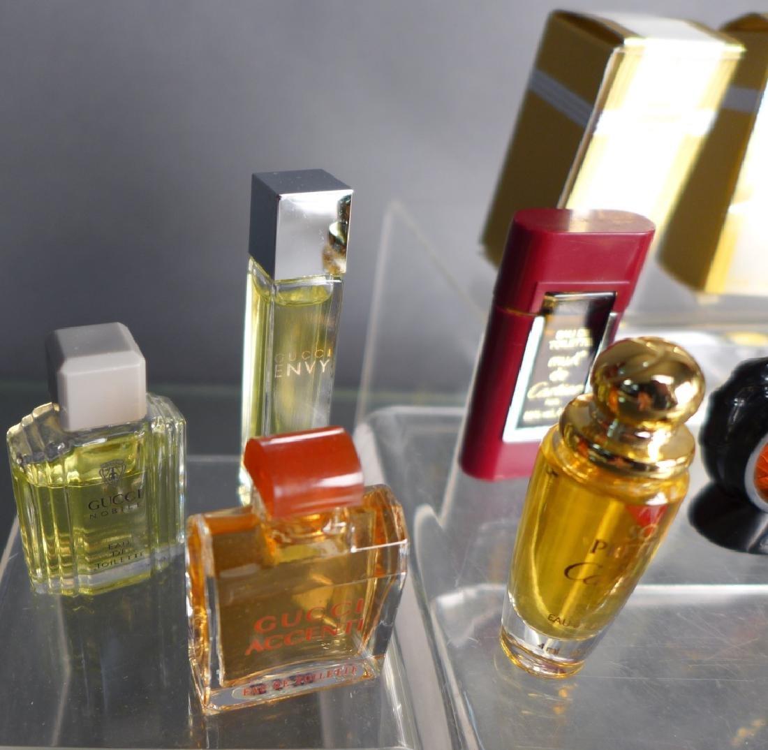 Cartier, Gucci & Fendi Miniature Perfume Bottles - 3